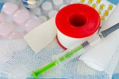 Farmaceutyczni produkty Obraz Stock