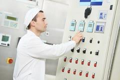 Farmaceutyczny pracownik fabryczny Obraz Stock