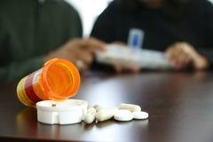 Farmaci Fotografia Stock Libera da Diritti