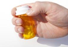 Farmaci da vendere su ricetta medica fotografia stock