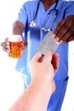 Farmaci da vendere su ricetta medica d'acquisto Fotografie Stock Libere da Diritti