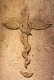 Farmacia antigua Imagen de archivo libre de regalías