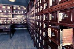 Farmacia china Imagen de archivo libre de regalías