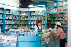 Farmacia de Dalat, Vietnam Foto de archivo
