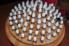 Farmacia de Homoepathic Foto de archivo libre de regalías