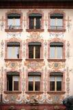 Farmacia dei leoni alla cattedrale di Mainz Immagine Stock Libera da Diritti