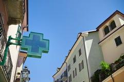 Farmacia della città Immagini Stock