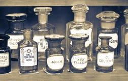 Farmacia vieja Imagen de archivo libre de regalías