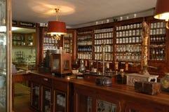 Farmacia vieja fotos de archivo libres de regalías