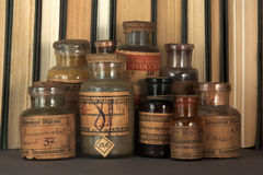 Farmacia vittoriana Fotografia Stock