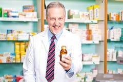 Farmacista Fotografia Stock