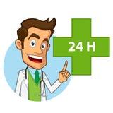 farmacista royalty illustrazione gratis