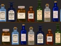 Farmacista anziano illustrazione vettoriale
