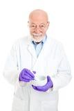 Farmacista - con esperienza e saggio fotografie stock libere da diritti