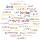 farmaco illustrazione di stock