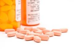 Farmaco da vendere su ricetta medica Immagini Stock Libere da Diritti