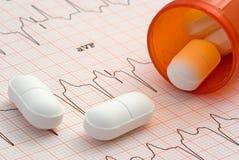 Farmaco del cuore Fotografia Stock Libera da Diritti