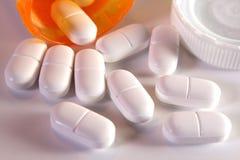 Farmaco di dolore Immagine Stock