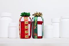 Farmaco di feste Fotografie Stock