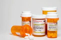 Farmaco di prescrizione Fotografia Stock