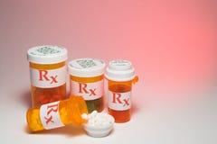 Farmaco di prescrizione Fotografie Stock Libere da Diritti