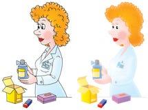 Farmacêutico Fotos de Stock Royalty Free