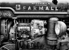 farmall τρακτέρ στοκ εικόνα