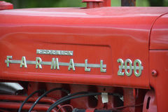 Farmall 200. BROMONT QUEBEC CANADA 08 23 17: Farmall 200 was a model name and later a brand name for tractors manufactured by the American company International Stock Image