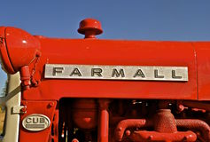 Farmall Cub restord tractor Royalty Free Stock Photo
