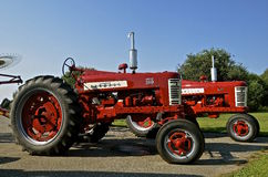 Farmall 350 tractoor Royalty Free Stock Photography