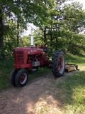 Farmall tractor Royalty Free Stock Photography