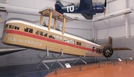 Farman F.60 Goliath & x28;1918& x29; in the Museum of Astronautics and Av. Le Bourget; Paris; France- May 04; 2017: Farman F.60 Goliath & x28;1918& x29 Stock Photo