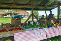 Farmer's Roadside Stand Stock Photos