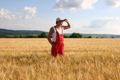 Farmer. Outdoor royalty free stock photography