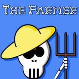 The Farmer. An illustration of a farmer Vector Illustration