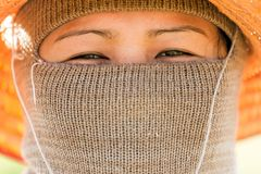 Farmer asian woman Royalty Free Stock Images