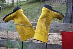 Farmer boot Stock Image