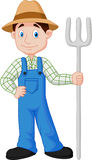 Farmer cartoon Stock Images