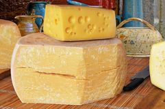 Farmer Cheese Royalty Free Stock Photography
