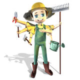 Farmer gardener Stock Photo