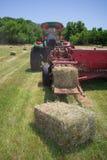 Farmer Haying Field Royalty Free Stock Photo