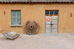 Farmer house Stock Image