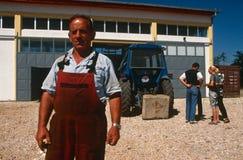 A farmer in Kosovo. Stock Photos