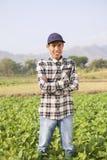 Farmer man Stock Photo