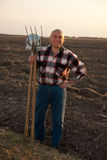 Farmer Portrait Royalty Free Stock Photography