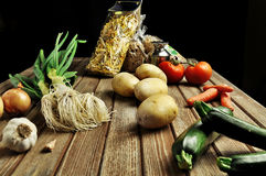 Farmer's food stock image