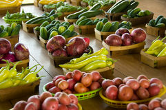 Farmer's Market Stock Photography