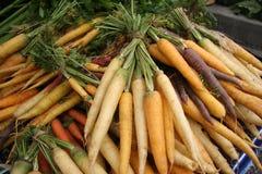 Farmer's Market / Carrots Stock Photography