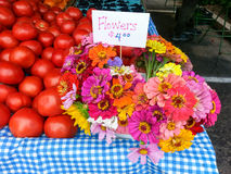 Farmers Market Display Royalty Free Stock Photos