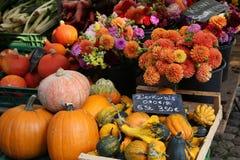 Farmer`s market in Freiburg royalty free stock photo